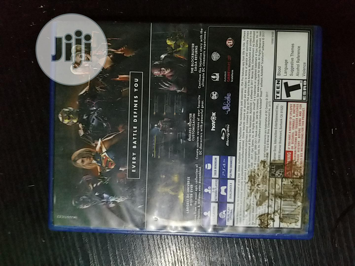 Archive: Injustice: Ps4