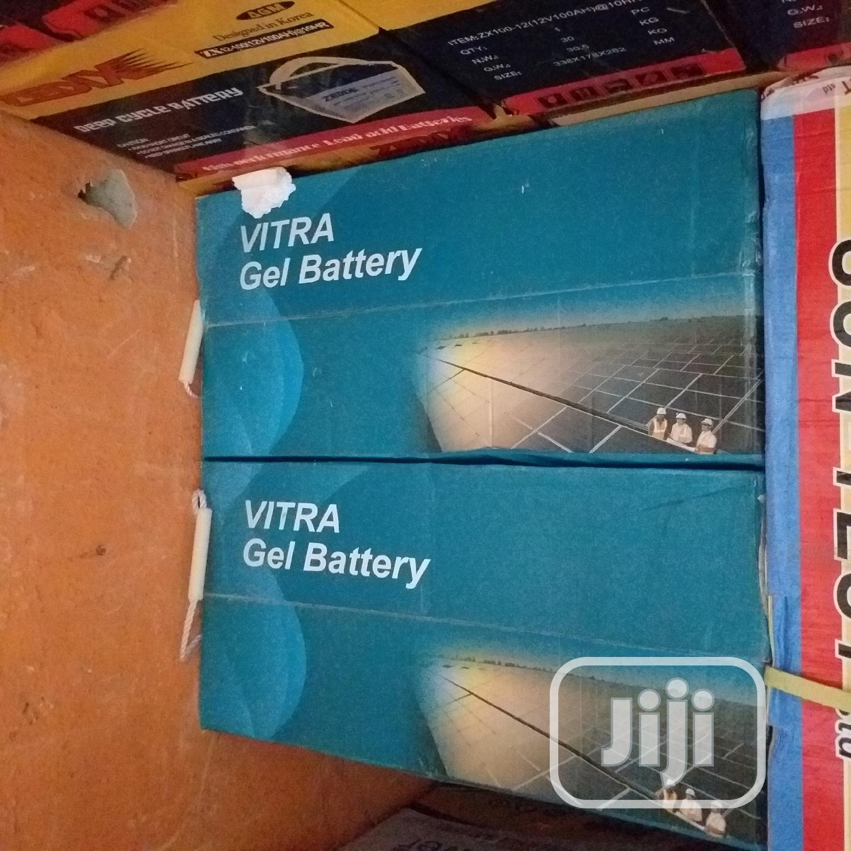 Vitra Gel Battery 12V 200ah