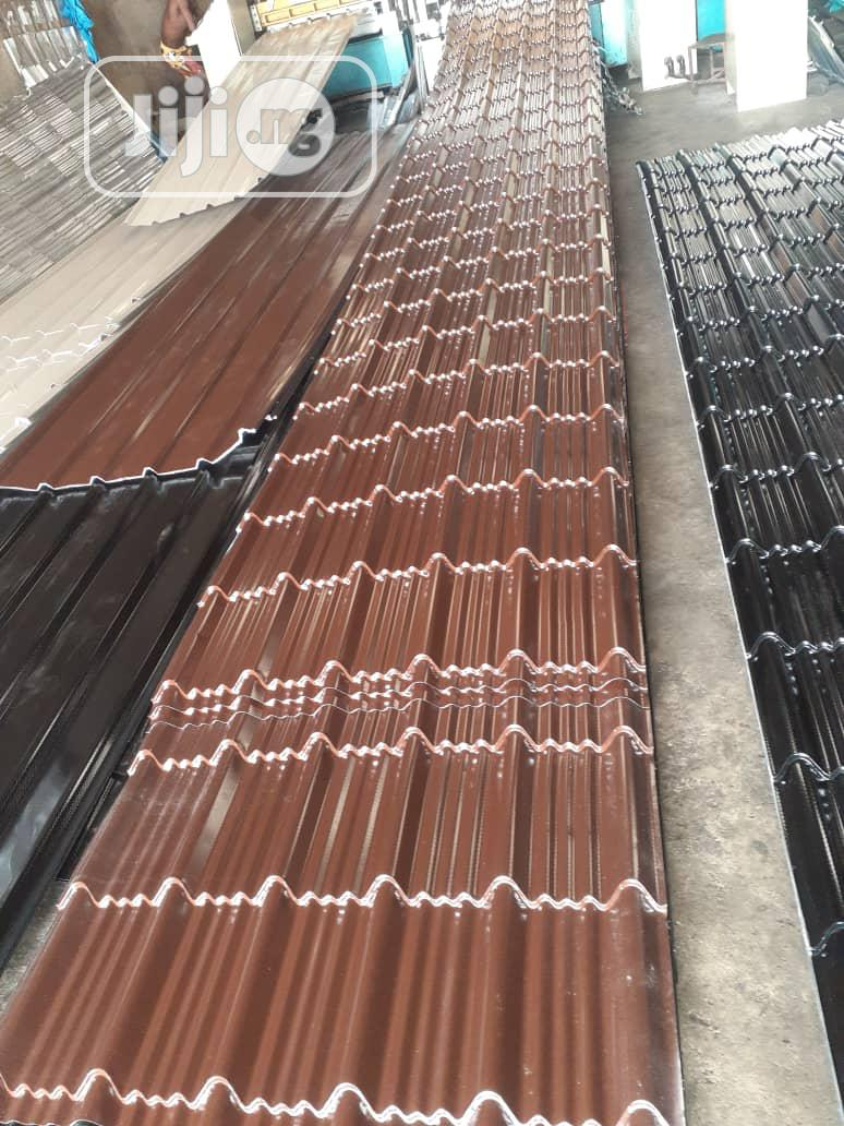 Archive: First Quality Aluminium Step Tiles Roofing Sheet