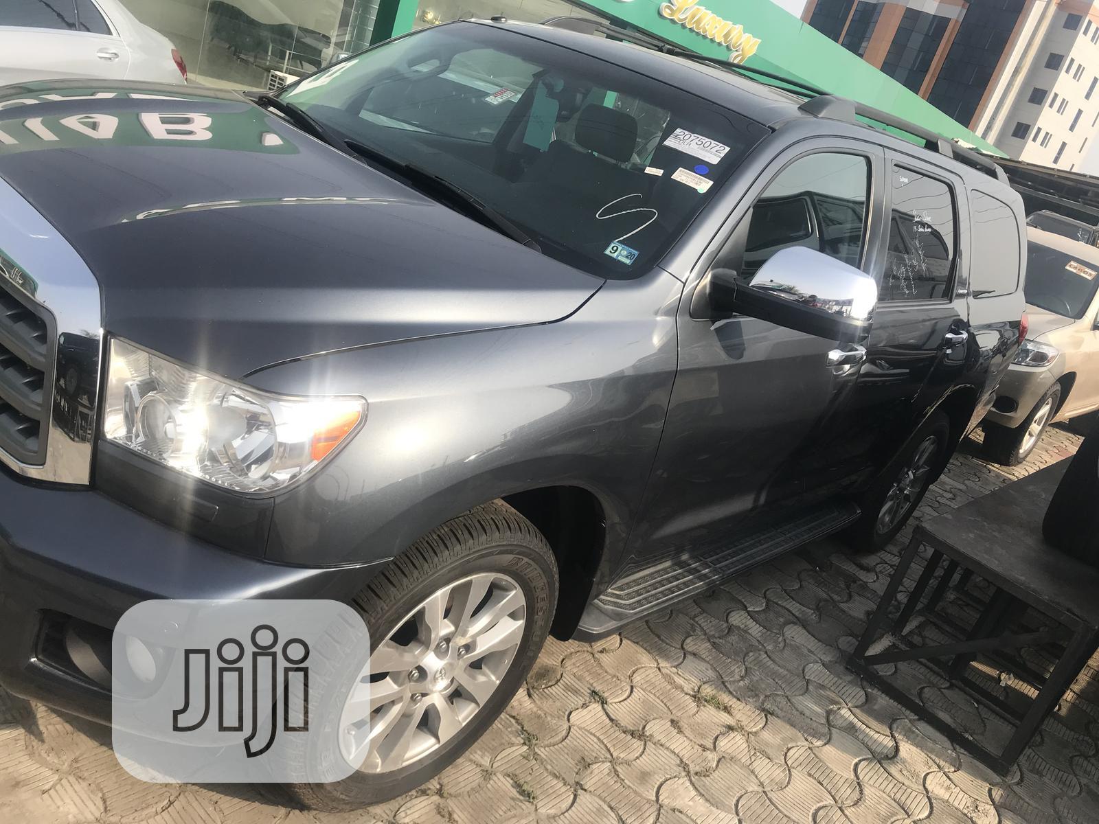 Toyota Sequoia 2008 Gray   Cars for sale in Lekki, Lagos State, Nigeria