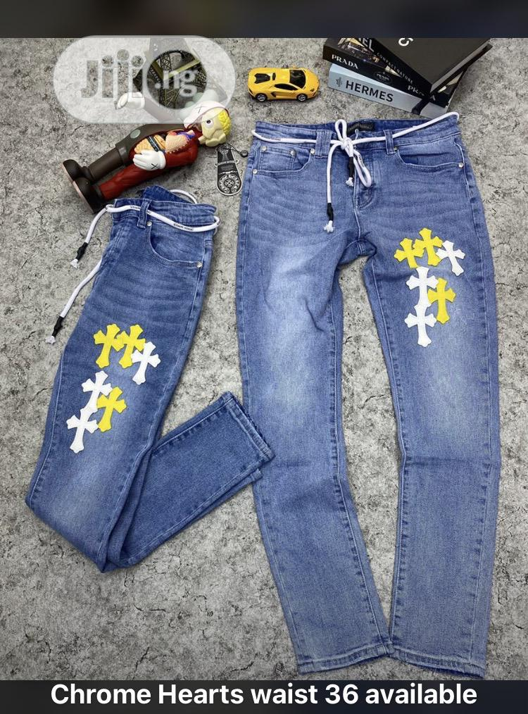 Chrome Heart Jean
