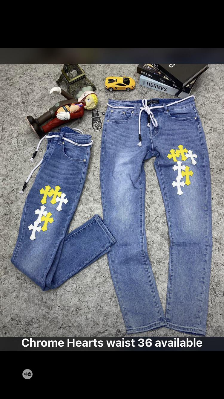 Chrome Heart Jean | Clothing for sale in Gwarinpa, Abuja (FCT) State, Nigeria