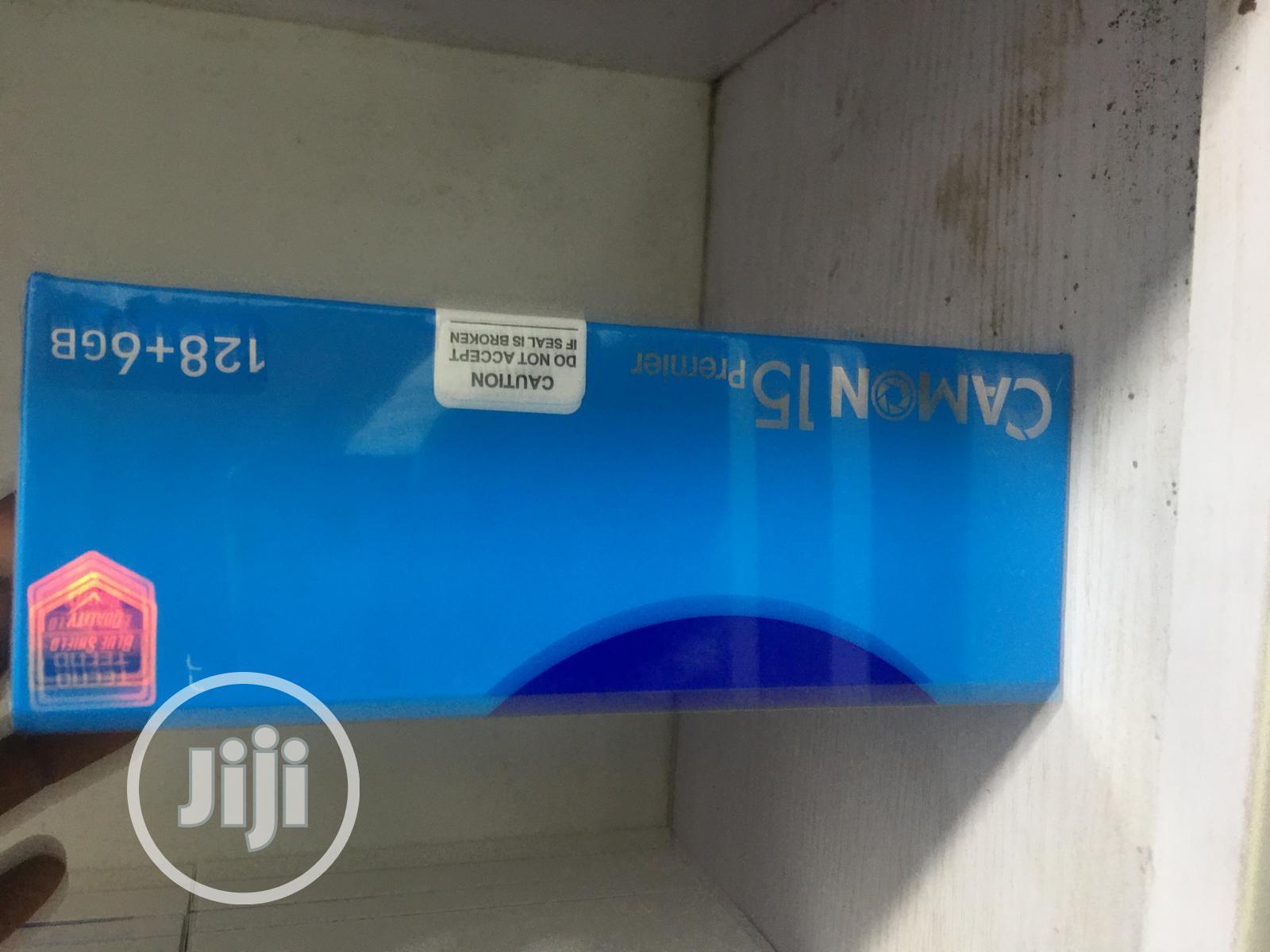 New Tecno Camon 15 Premier 128 GB   Mobile Phones for sale in Ikeja, Lagos State, Nigeria