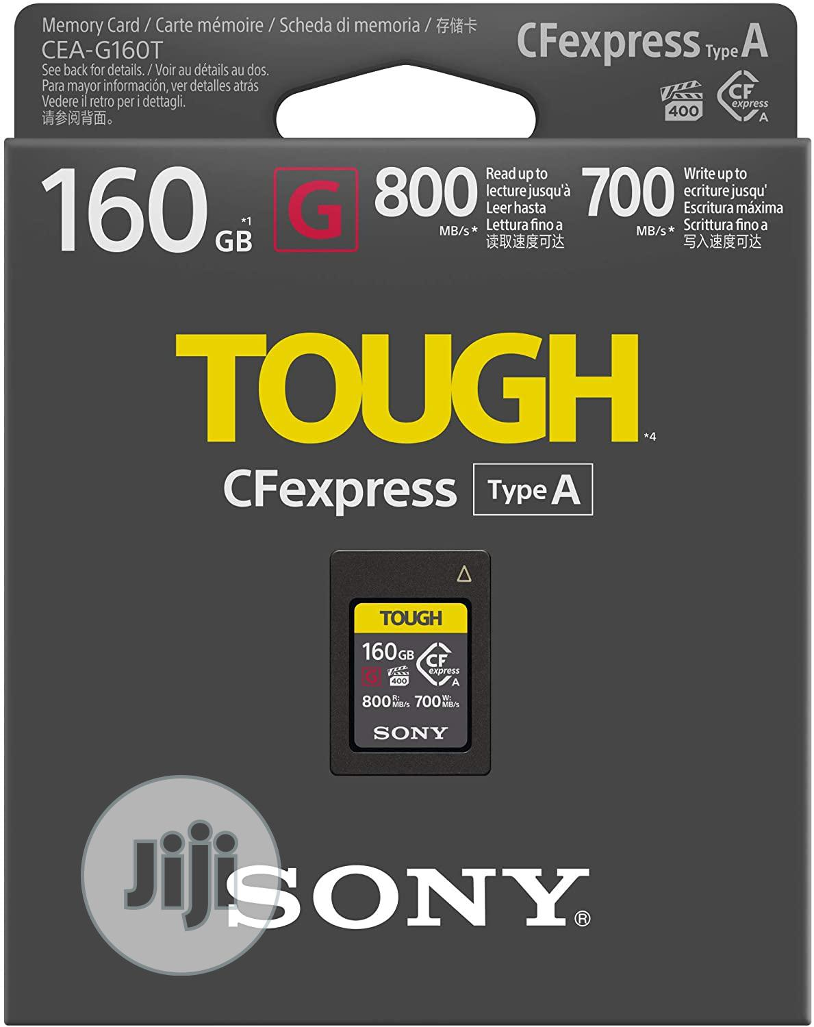 SONY 160gb Cfexpress Type a Memory Card 800mb/S
