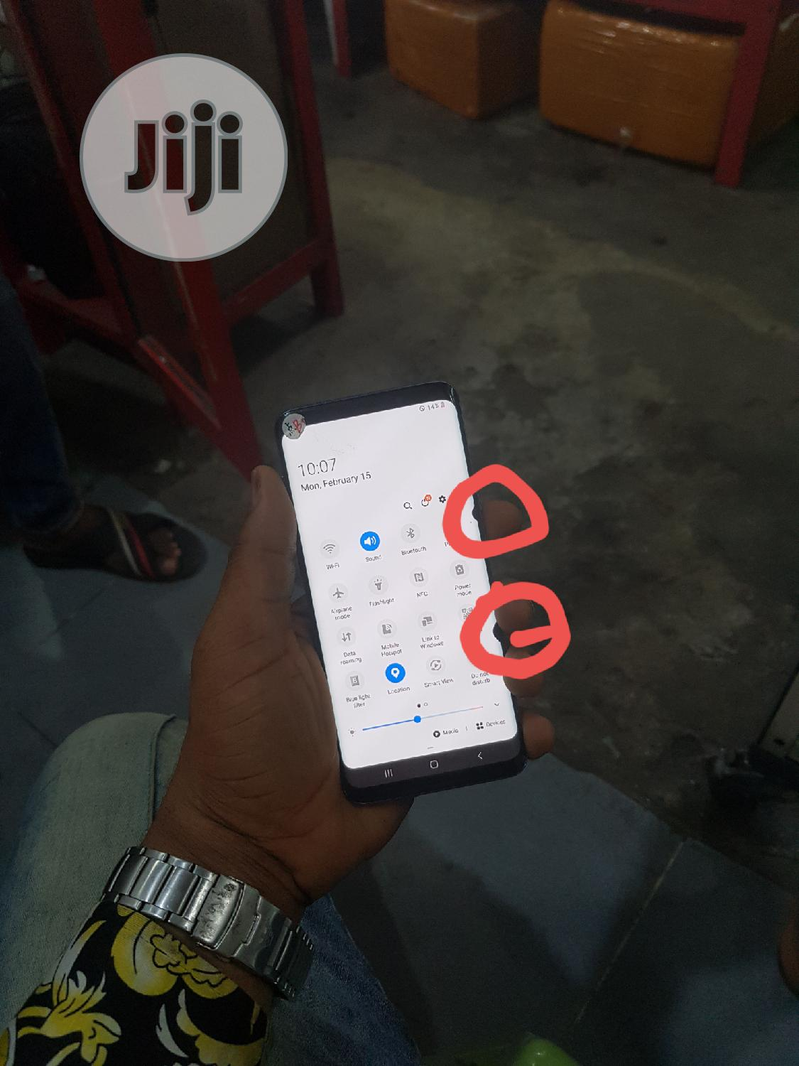 Samsung Galaxy S9 Plus 64 GB Blue | Mobile Phones for sale in Ikeja, Lagos State, Nigeria