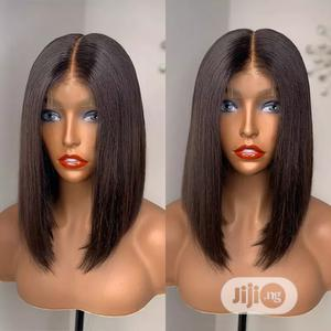 Blunt Cut Human Hair Wig for Sale | Hair Beauty for sale in Abuja (FCT) State, Lugbe District