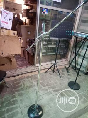 Mic Stand Silver | Audio & Music Equipment for sale in Lagos State, Ikeja