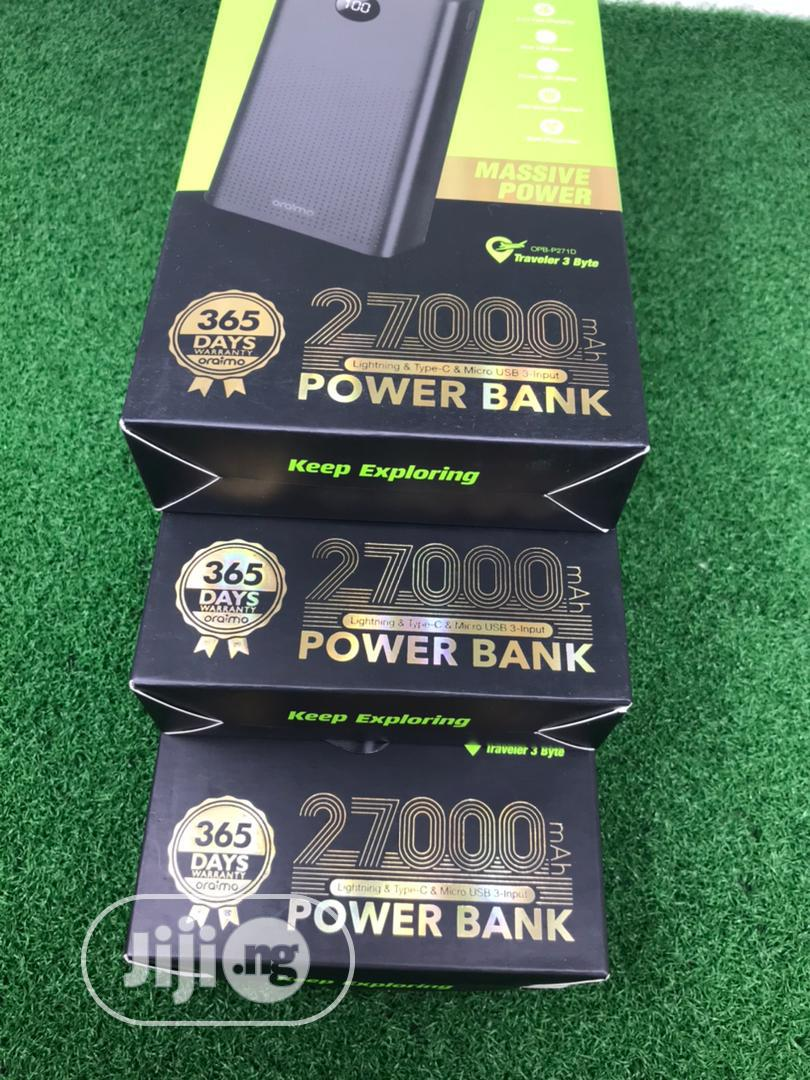Archive: Oraimo Power Bank 27000mah