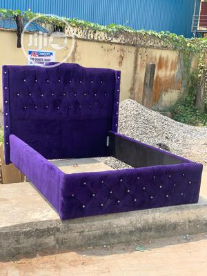 4 Nd Half by 6 Upholstery Bedframe | Furniture for sale in Lagos State, Ojo