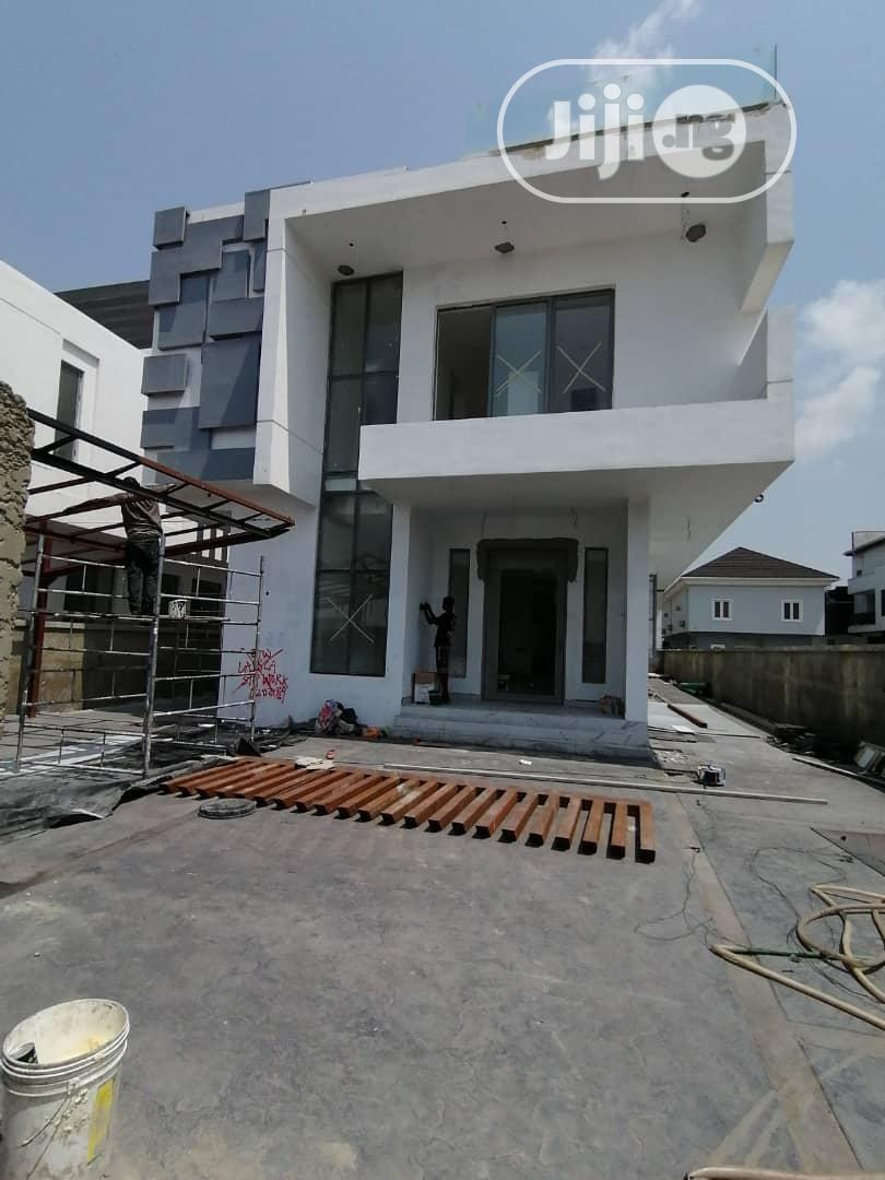 5bedroom Detached Duplex With Swimming Pool Open Penthouse | Houses & Apartments For Sale for sale in Osapa london, Lekki, Nigeria