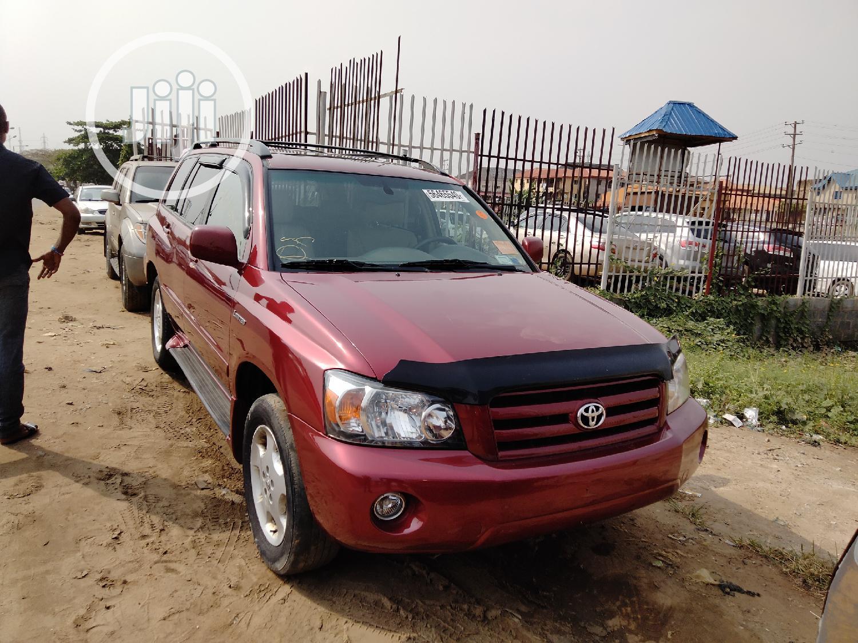 Archive: Toyota Highlander 2004 Limited V6 FWD Red