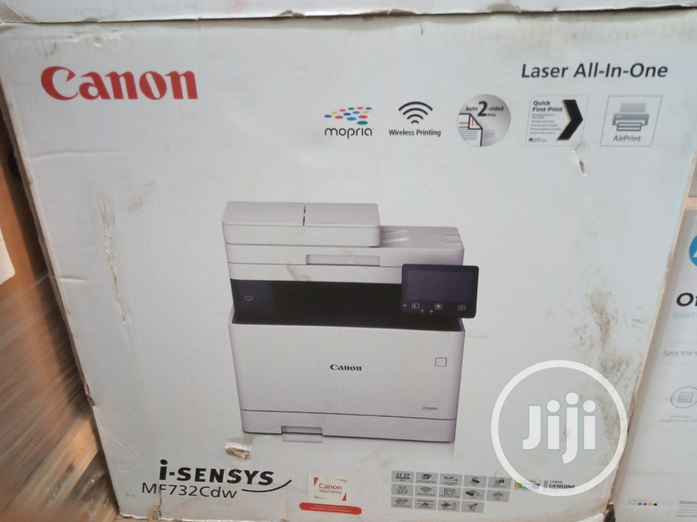 Canon Printer MF732CDW | Printers & Scanners for sale in Ikeja, Lagos State, Nigeria