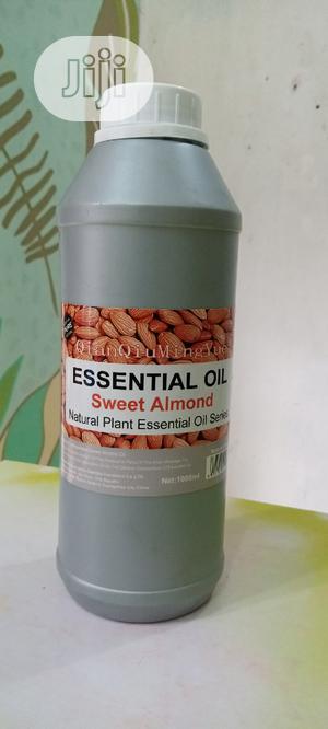 Essenctial Sweet Almond Oil 1(Ltr)   Skin Care for sale in Lagos State, Ojota