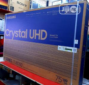 """Samsung 75tu8000 Crystal Uhd Smart TV Series8 75""""Inch Years 