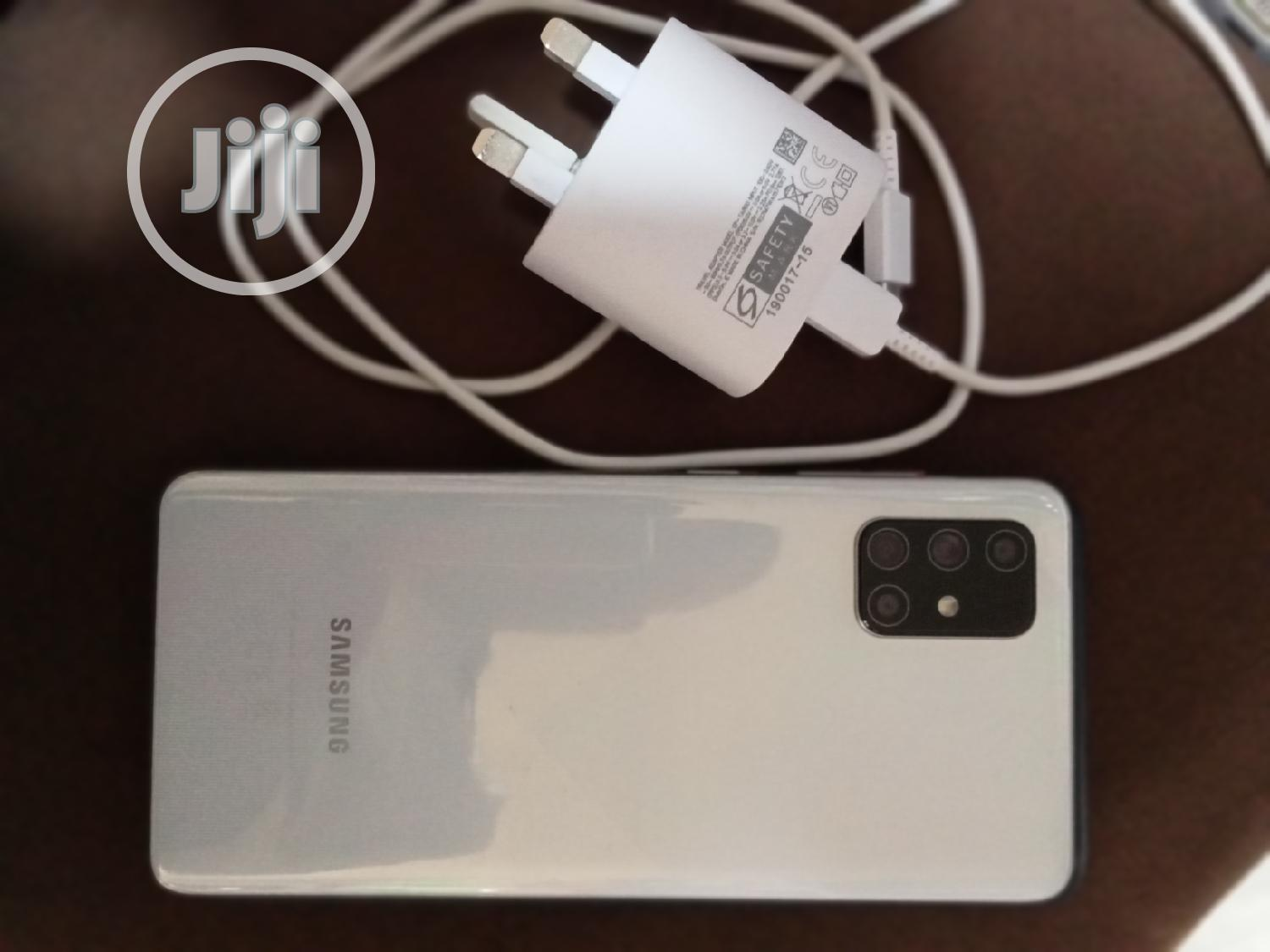 Samsung Galaxy A71 128 GB White | Mobile Phones for sale in Ikpoba-Okha, Edo State, Nigeria