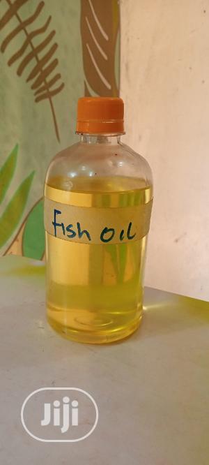 Fish Oil 500ml | Skin Care for sale in Lagos State, Ojota