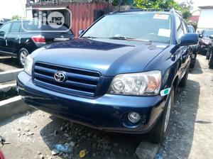 Toyota Highlander 2007 Limited V6 Blue   Cars for sale in Lagos State, Apapa