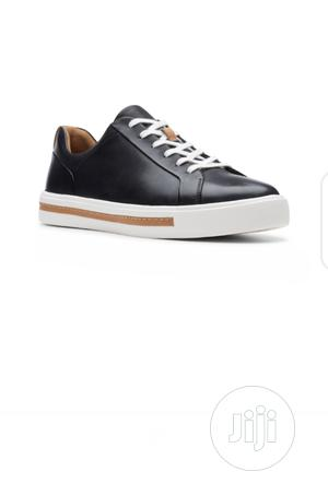 Clarks Black Leather Lace-Up Shoe | Shoes for sale in Lagos State, Gbagada