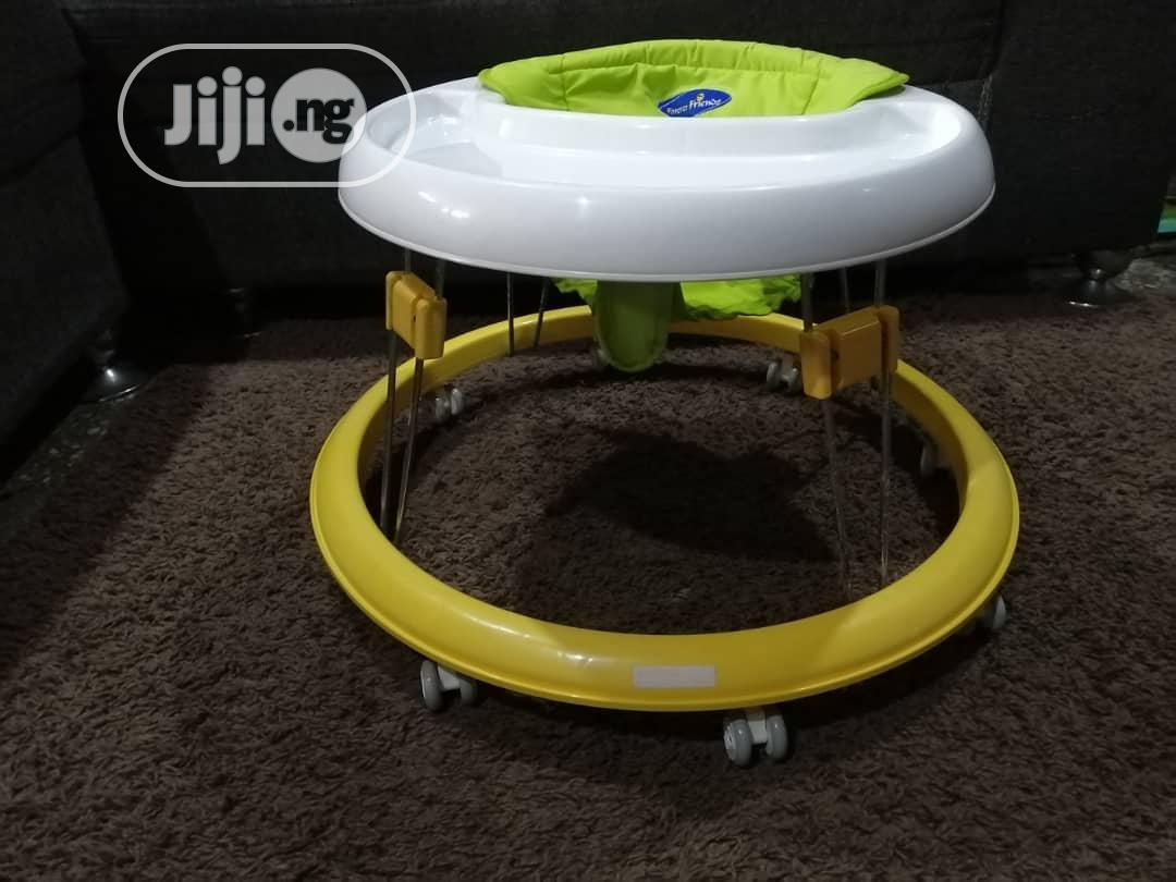 Baby Walker Yellow   Children's Gear & Safety for sale in Ikeja, Lagos State, Nigeria