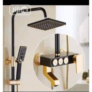 Modern Black And Gold Standard Shower   Plumbing & Water Supply for sale in Lagos State, Surulere