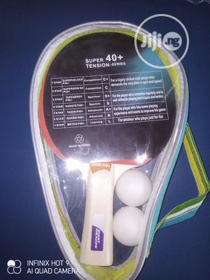 Two ** GUARD P40 + Table Tennis Racket | Sports Equipment for sale in Lagos State, Yaba