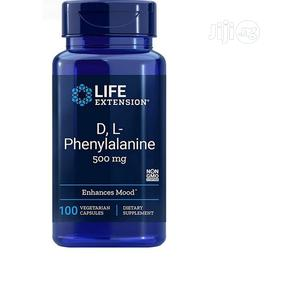Life Extension D L Phenylalanine 100 Capsules | Vitamins & Supplements for sale in Lagos State, Amuwo-Odofin