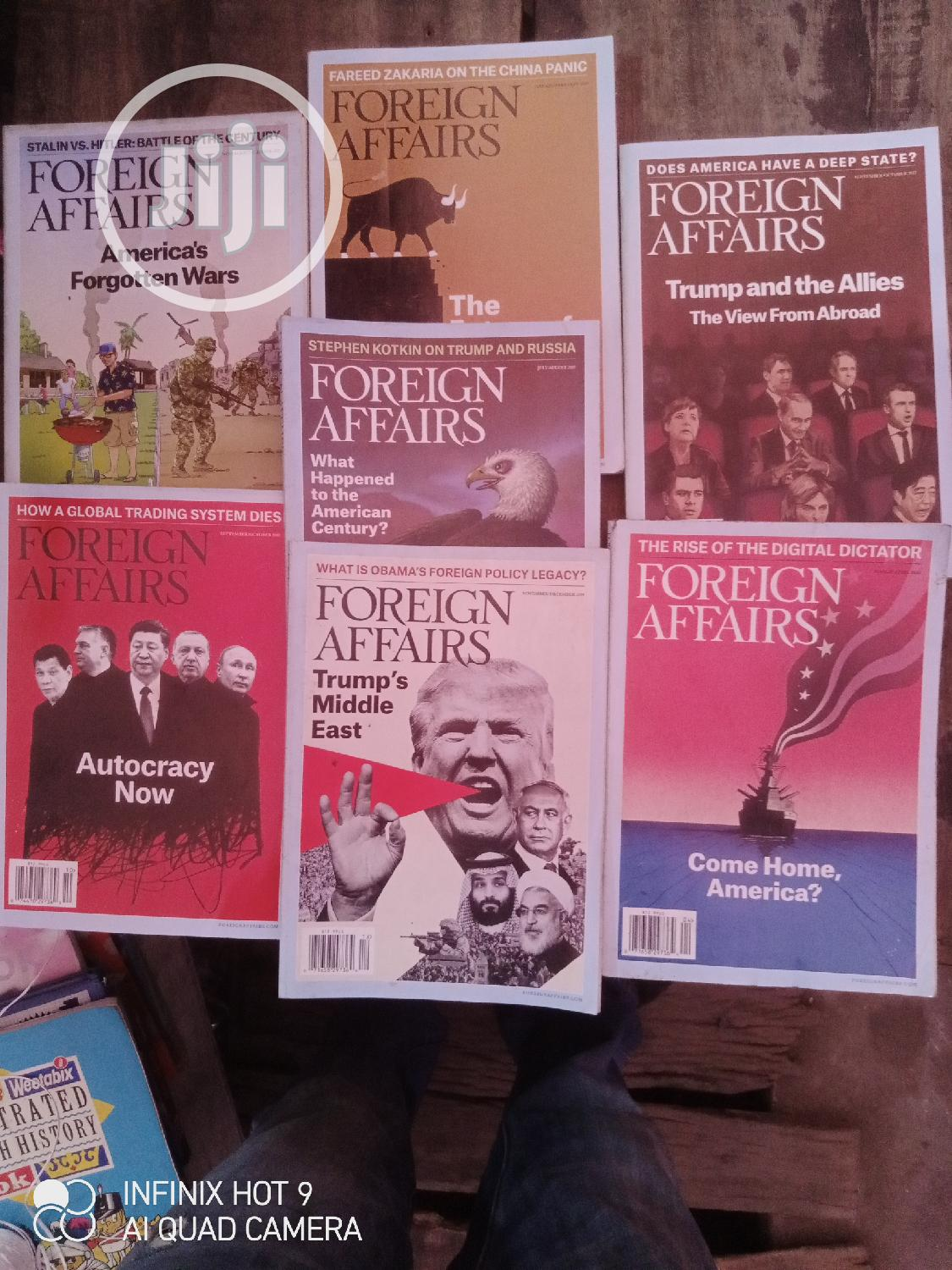 Foreign Affairs Magazine | Books & Games for sale in Yaba, Lagos State, Nigeria