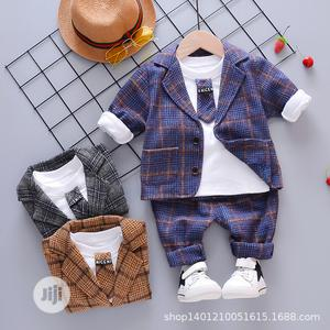 Three Piece Casual Baby Suit Jacket | Children's Clothing for sale in Lagos State, Lekki