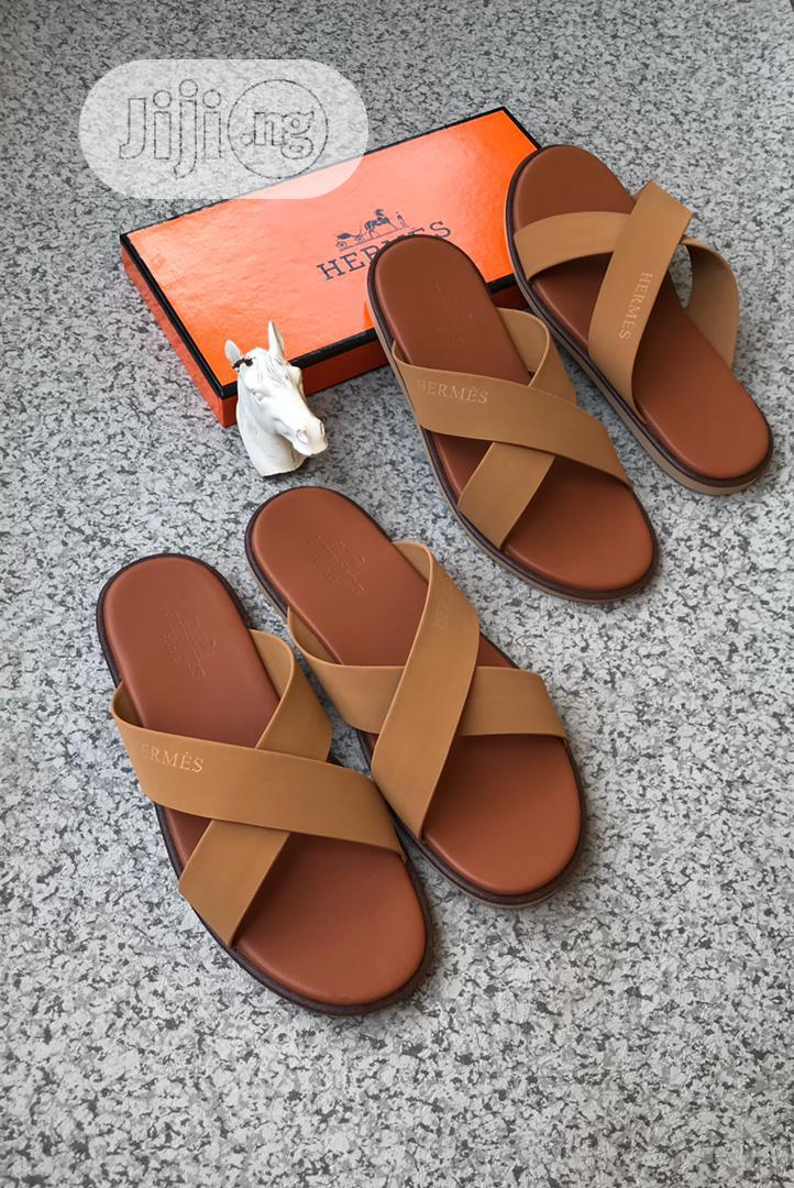 Archive: Loius Vuitton Slippers. And Hermes Slippers