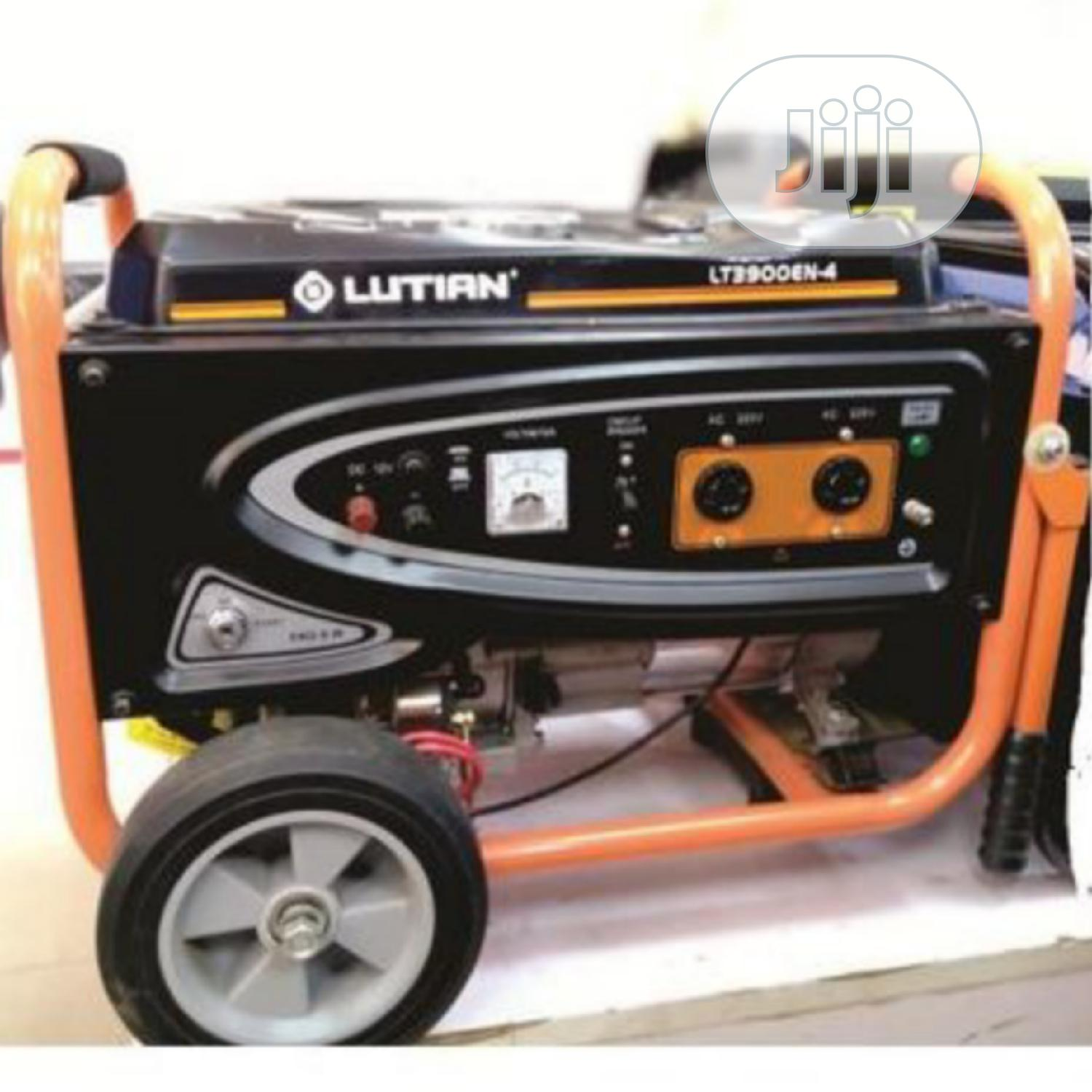 Lutian LT3900EN 3.8KVA 100% Pure Copper Key Start Generator | Electrical Equipment for sale in Port-Harcourt, Rivers State, Nigeria