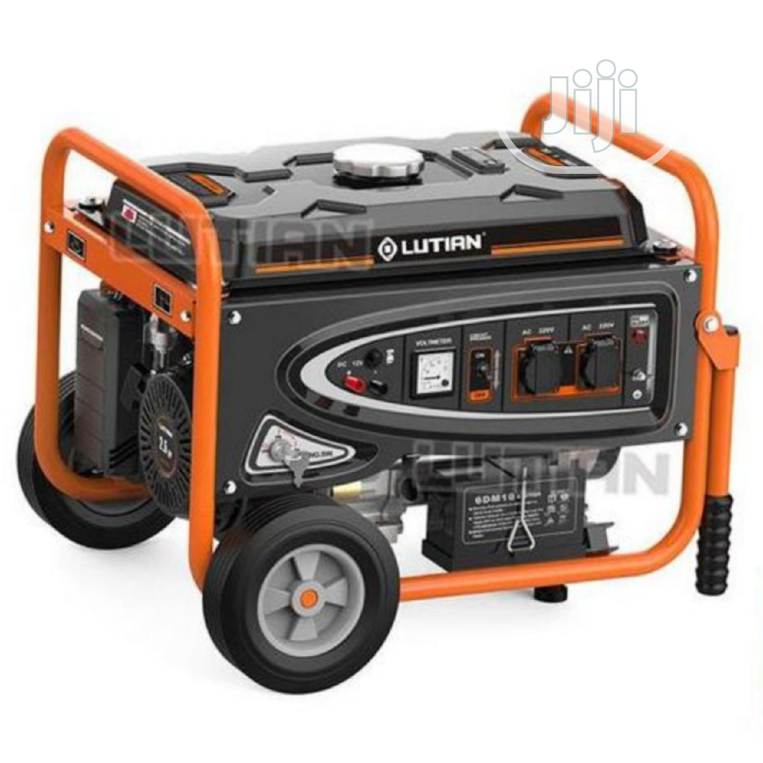 Lutian LT3900EN 3.8KVA 100% Pure Copper Key Start Generator