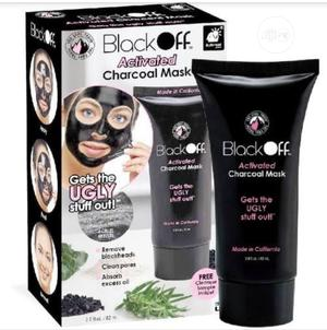Black Off Activated Charcoal Mask   Skin Care for sale in Lagos State, Lagos Island (Eko)