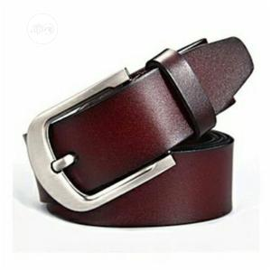 Brown Original Leather Belt | Clothing Accessories for sale in Lagos State, Surulere
