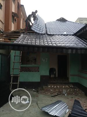 Original Steptiles 0.55mm Black Colour   Building Materials for sale in Lagos State, Maryland