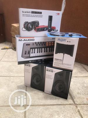 Studio Set,Bx5 D3,M Audio Oxygen 25,Solo Sound Card Pack,   Audio & Music Equipment for sale in Lagos State, Ojo