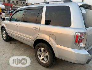 Honda Pilot 2007 EX-L 4x4 (3.5L 6cyl 5A) Silver   Cars for sale in Lagos State, Isolo