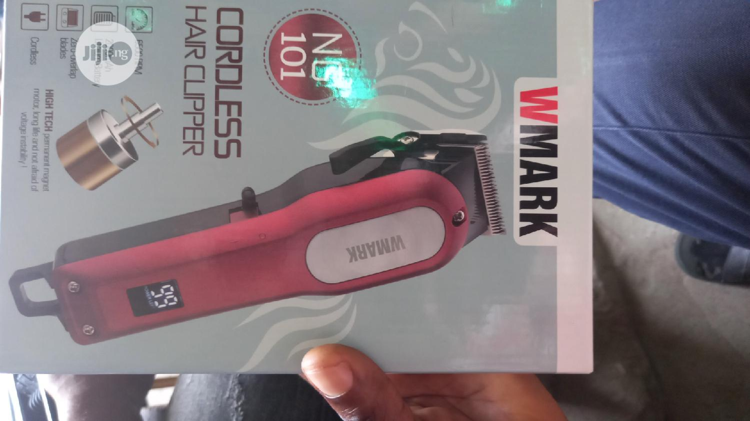 Vmark Cordless Hair Clippers | Tools & Accessories for sale in Ikeja, Lagos State, Nigeria