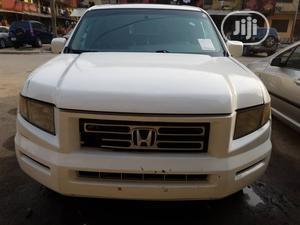 Honda Ridgeline 2008 White   Cars for sale in Lagos State, Ikoyi