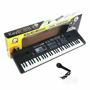 61 Keyboard Piano for Children + Charger + Microphone | Toys for sale in Lagos State, Ikeja