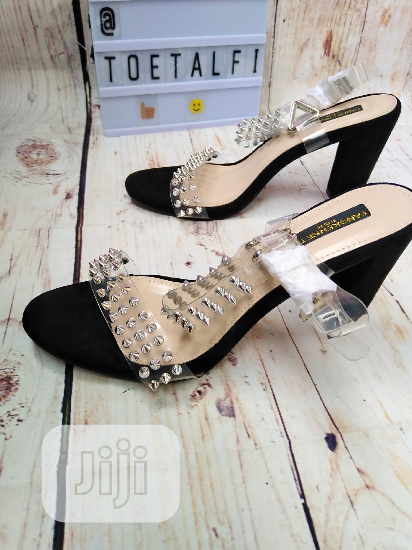 Female Block Heel Sandal