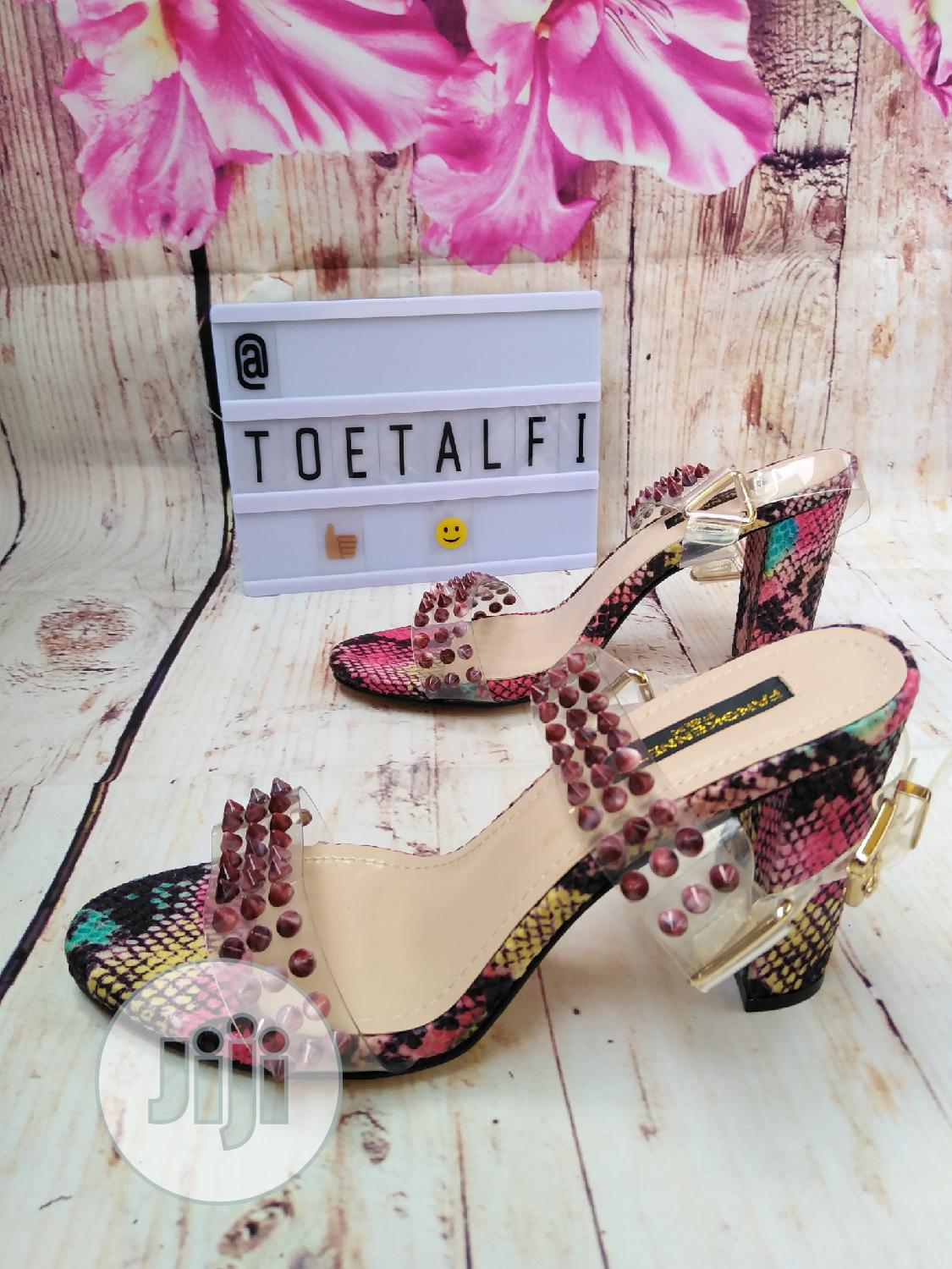 Female Block Heel Sandal | Shoes for sale in Ikeja, Lagos State, Nigeria