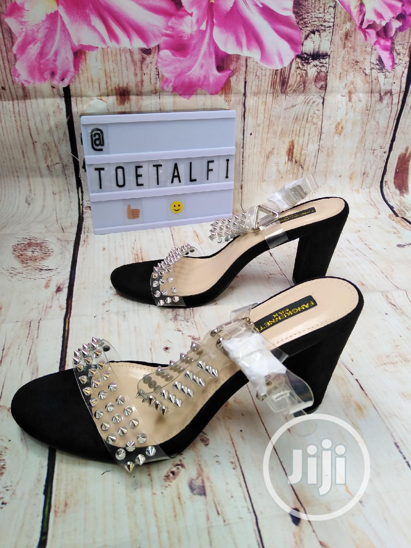 Female Block Heel Sandal | Shoes for sale in Ikeja, Lagos State, Nigeria