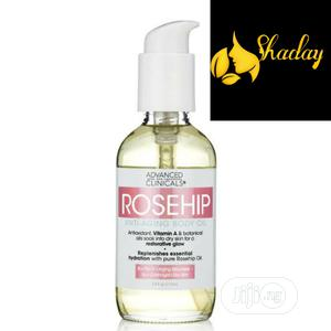 Advanced Clinicals Rosehip Anti Aging Body Oil 112ml | Skin Care for sale in Lagos State, Alimosho