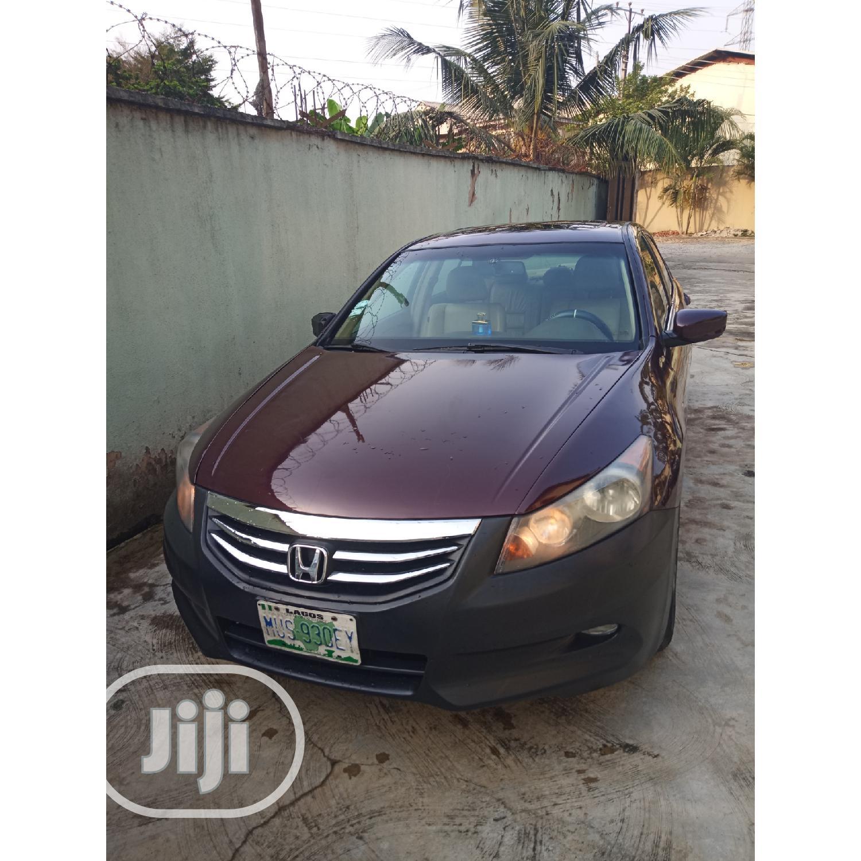Honda Accord 2012 2.0 Sedan Automatic Brown | Cars for sale in Isolo, Lagos State, Nigeria