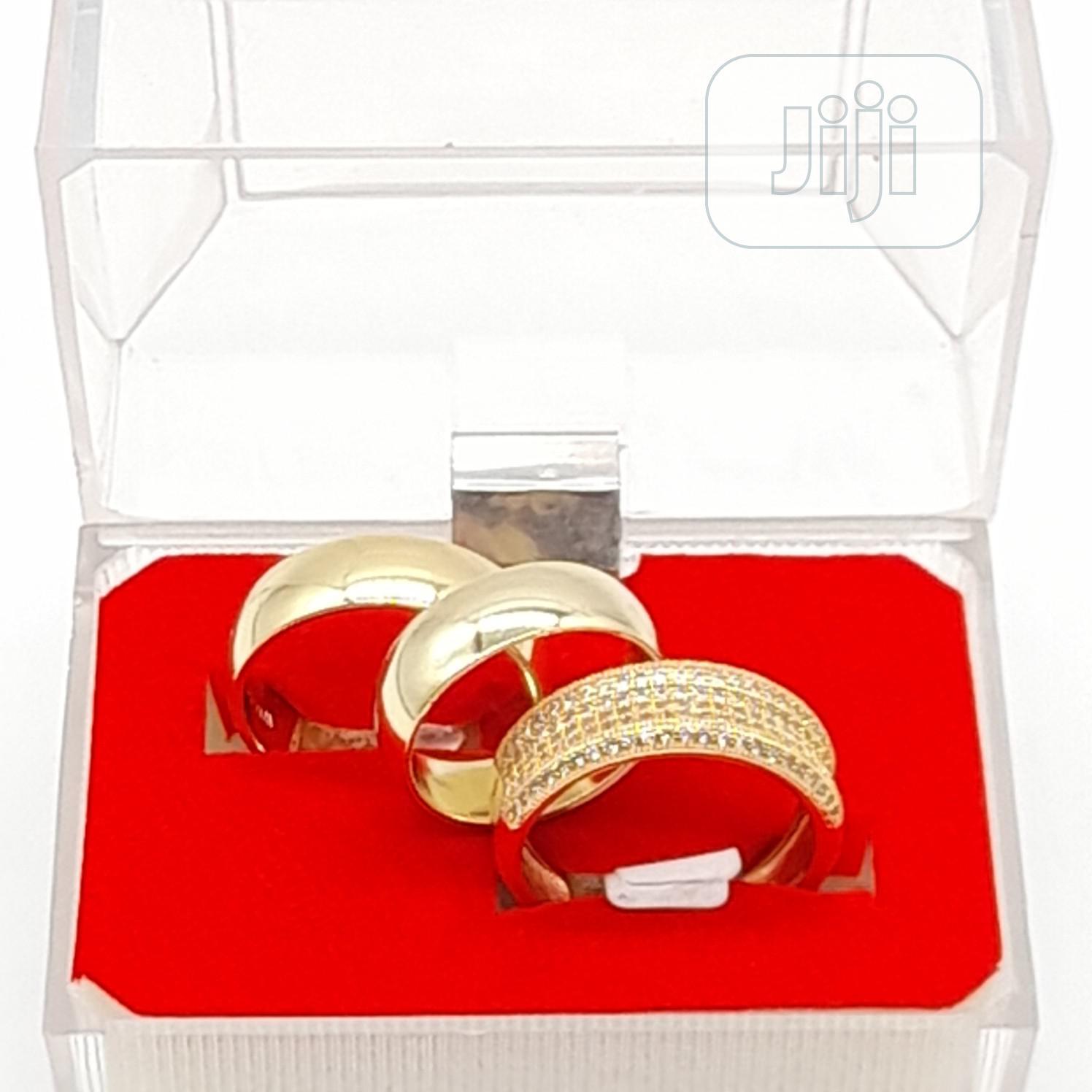 Unique Romanian Gold Wedding Rings