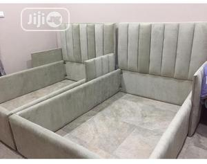 Quality 4 by 6 Bed Frame With Drawers   Furniture for sale in Abuja (FCT) State, Wuse
