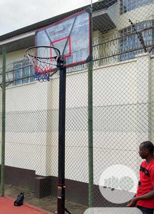 America Fitness Fibre Basketball Stand With Accessories   Sports Equipment for sale in Lagos State, Lekki