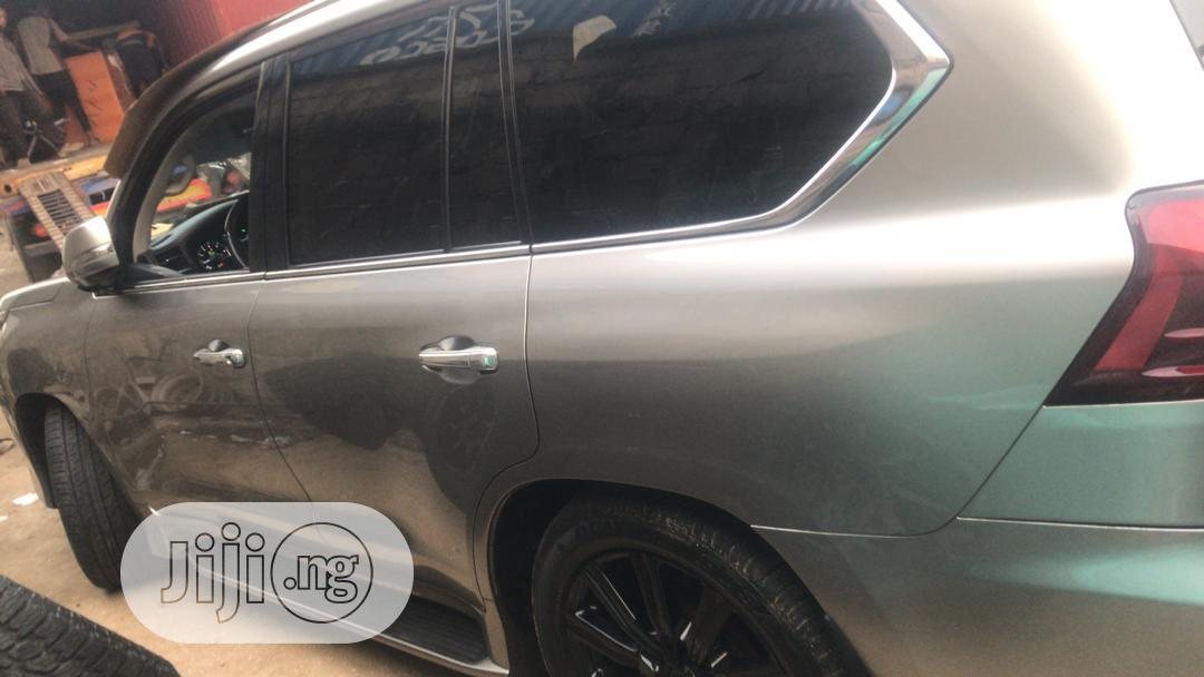 Lexus LX 2016 570 Base Gray | Cars for sale in Victoria Island, Lagos State, Nigeria