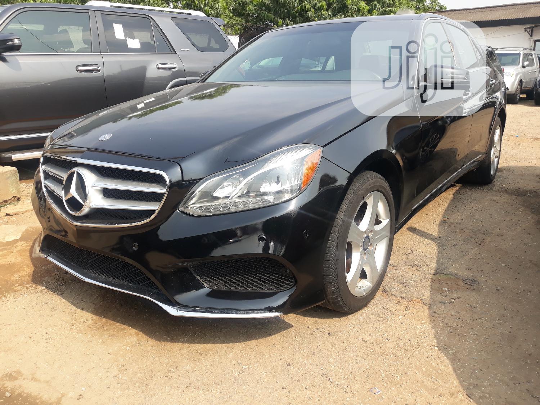 Archive: Mercedes-Benz E350 2015 Black