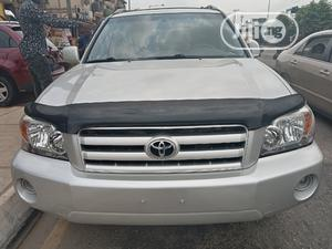 Toyota Highlander 2005 Limited V6 Silver   Cars for sale in Lagos State, Ogba